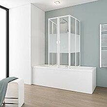 Schulte Duschabtrennung faltbar für Badewanne 70