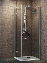 Schulte Duschkabine Eckeinstieg 90x90 cm auf