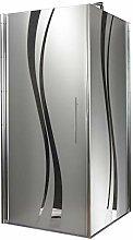 Schulte Duschkabine Glas-Dusche 90x90 5mm Stärke