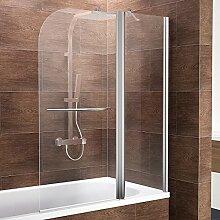 Schulte Duschwand Duo, 115x140 cm, 2-teilig mit