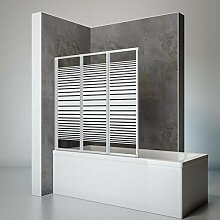 Schulte Duschwand Smart inkl. Klebe-Montage, 127 x