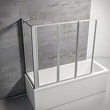 Schulte Duschwand Smart mit Seitenwand inkl.