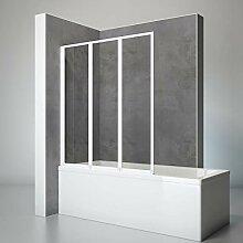 Schulte Duschwand Well, 127 x 140 cm, 3-teilig