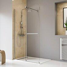 Schulte Walk-in-Dusche Toura, mit Schiebetür und