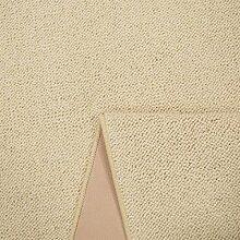 Schurwolle Teppich Shepherd - Farbe wählbar | 100% strapazierfähige Naturfaser Wolle | für Fußbodenheizung geeignet | Aufwertung für Wohnzimmer Schlafzimmer Esszimmer Büros u.v.m., Farbe:Weiß, Größe:120 x 170 cm