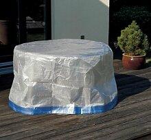Schutzhülle Abdeckung Hülle für Tisch oval