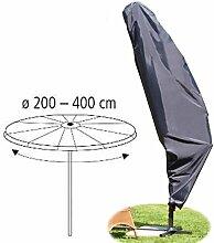 Schutzhülle für Ampelschirm Schirm-Ø 200-400 cm Polyester anthrazi