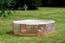 Schutzhülle für Garten-Sitzgruppe Ø 320cm - 15192