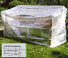Schutzhülle für Gartenbänke ca. 160 x 75 x 80 (H) cm