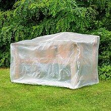 Schutzhülle für Gartenbönke ca. 160 x 80cm, PE, 75g/m2, transparen