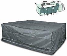 Schutzhülle für Gartengarnitur 200x160x70 cm Rattan Lounge Gartenmöbel