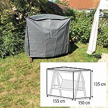 Schutzhülle für Gartenschaukel 155x150x135 cm Hollywoodschaukel Hülle