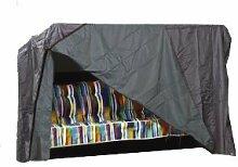 Schutzhülle für Gartenschaukel 3-4sitzig Comfort 270x150x135cm