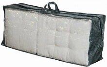 Schutzhülle für Kissen 125x32x50 cm grau