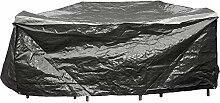 Schutzhülle für lange Sitzgruppen grau 215x170x80 cm