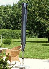 Schutzhülle für Sonnenschirm Ø 250 300 350 370 cm in Premium-Qualitä