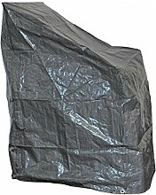 Schutzhülle grau Stapelstuhl 68x68x120 CM