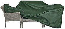 Schutzhülle grün für lange Sitzgruppen 215x170 cm