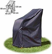Schutzhülle in Premium-Qualität für Stapelstuhl ca. 65 x 65 x 120 / 80 cm