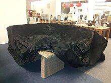 Schutzhülle schwarz große Sitzgruppen 300x250cm