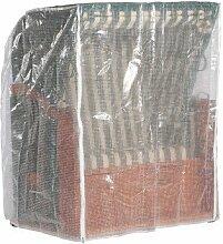 Schutzhülle Sonnenpartner Strandkorb 2 Sitzer tran. Ausführung mittel