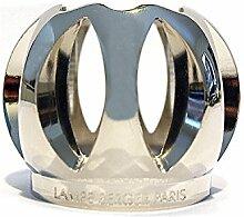 Schutzkrone Kugel massiv silbern für Lampe Berger
