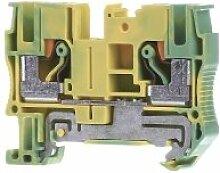 Schutzleiterreihenklemme 0,5-10qmm PT 6-PE,Elektroinstallation,Phoenix Contact,PT 6-PE,4046356494779