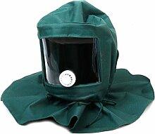 Schutzmaske - TOOGOO(R) Sandstrahler Sandstrahlhaube Maske Anti Werkzeuge Wind Schutzmaske