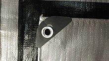 Schutzplane 3m x 3m Silber-Schwarz Abdeckplane Gewebeplane Gartenplane