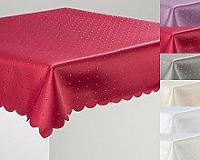 Schwar Textilien Tischdecke Decke Punkte