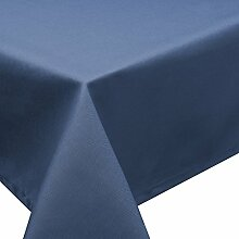 Schwar Textilien Tischdecke Fleckschutz Lotus