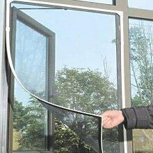 Schwarz Anti Mosquito Pest-Fenster-Netz Maschensieb-Curtain-Schutz