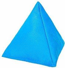 Schwarz Baumwollgewebe Dreieckige Jonglieren Sitzsack Garten Spiele PE Sport-, Erhältlich in 14 Farben und verschiedene Packungen - Türkis, 1 Packung