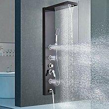 Schwarz Bronze Panel Dusche Panel Dusche Säule