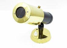 Schwarz & Goldene Zodiaque Wandlampe von Jacques
