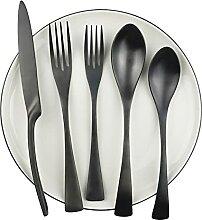 Schwarz Hohe Qualität Gratware Set Restaurant