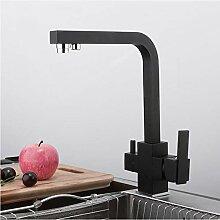 schwarz küchenarmatur wasserfilter wasserhahn