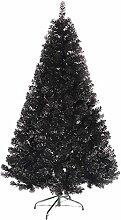 Schwarz Künstlicher Weihnachtsbaum,fichte,
