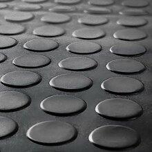 Schwarz Medaille Gummi Garage Bodenbelag Matten |,