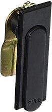 Schwarz Metall Panel Store Schrank Tür Ersatz Sicherheit Flugzeug Cam Lock