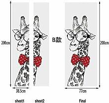 Schwarz Und Weiß Giraffe Kreative 3D