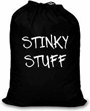 Schwarz Wäschebeutel Stinky Stuff Aufbewahrung