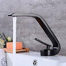 Schwarz Waschtischarmatur Waschbecken Wasserhahn