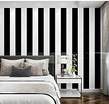Schwarz-Weiß Zebra 3d Streifen Tapete für Wände