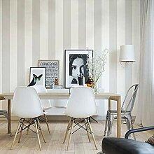 Schwarz-weiße gestreifte Tapete for Wohnzimmer