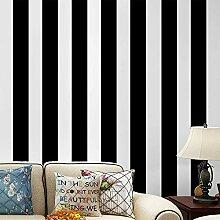 Schwarz-weiße Tapete zum Abziehen und Aufkleben,