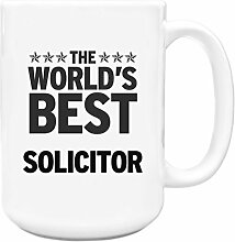 Schwarz Worlds Best Anwalt Big 444ml Becher 359