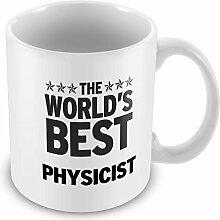 Schwarz Worlds Best Physiker Becher 284