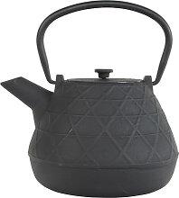 Schwarze Teekanne aus Gusseisen - Gusseisen - 17 x