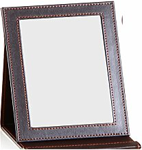 schwarzer Desktop-Spiegel/Spiegel/Prinzessin Spiegel Handspiegel/großer quadratischer Spiegel-P